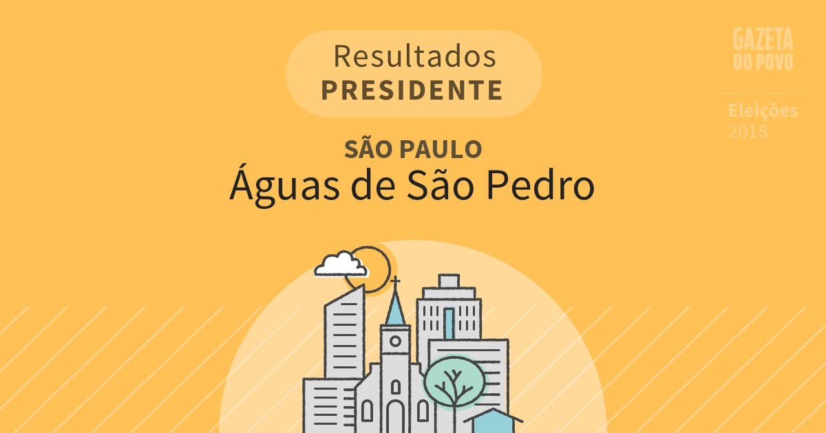 Resultados para Presidente em São Paulo em Águas de São Pedro (SP)