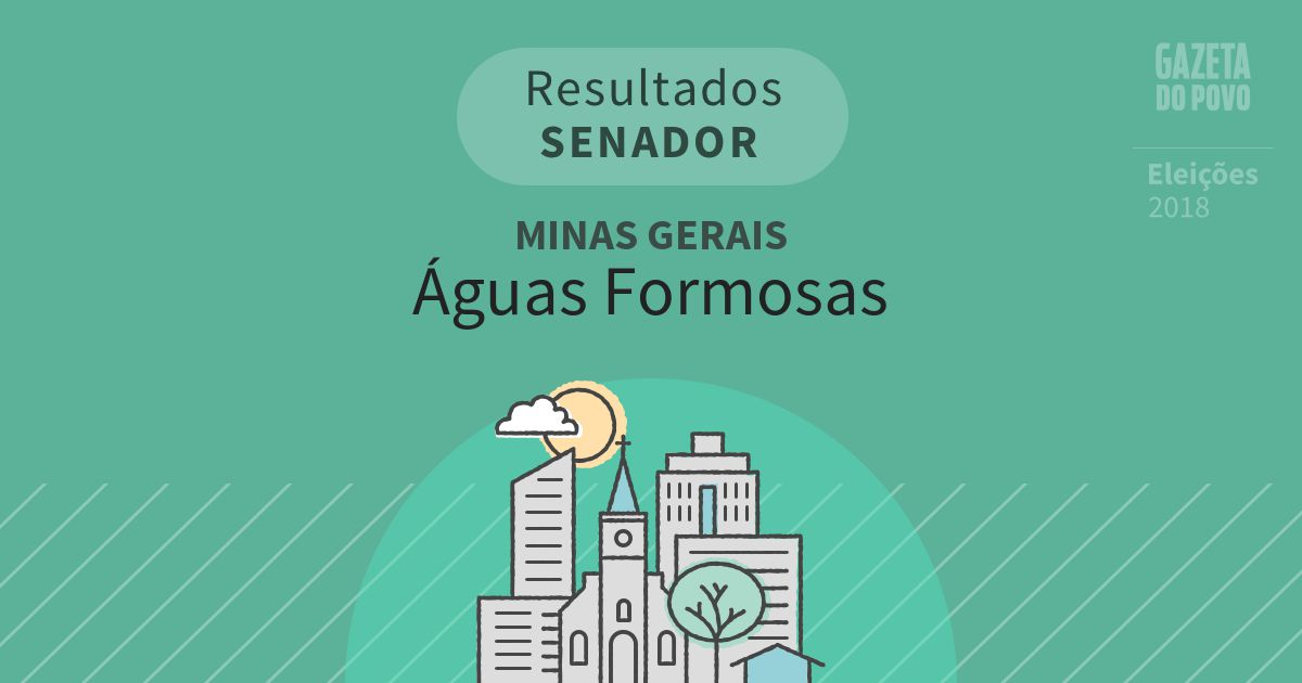 Resultados para Senador em Minas Gerais em Águas Formosas (MG)