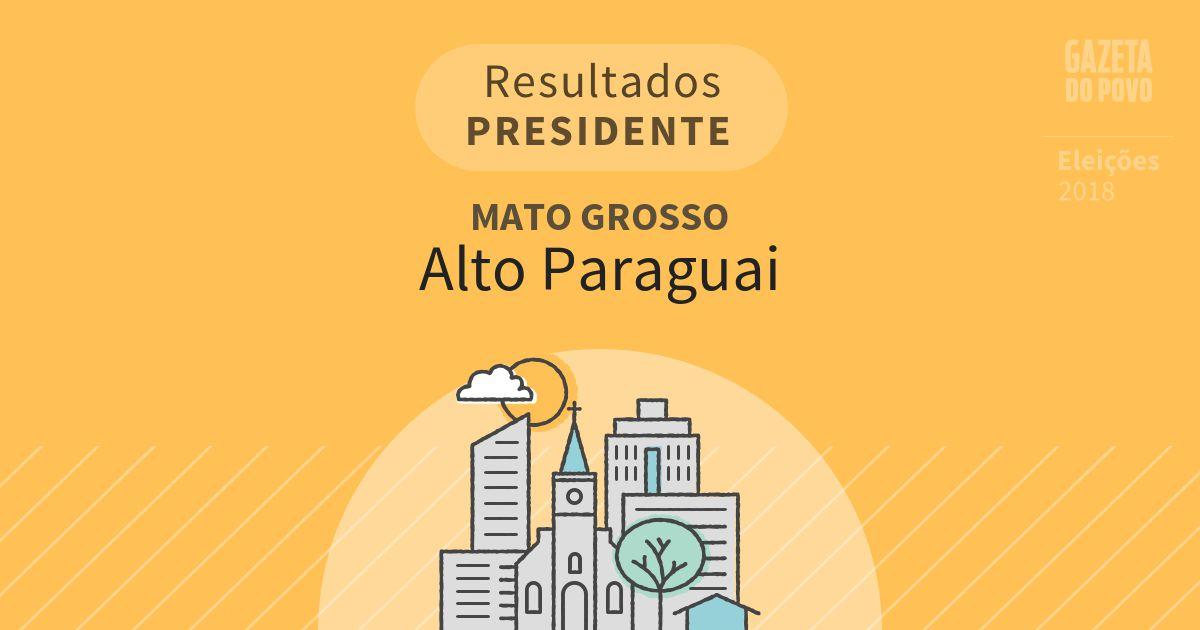 Resultados para Presidente no Mato Grosso em Alto Paraguai (MT)
