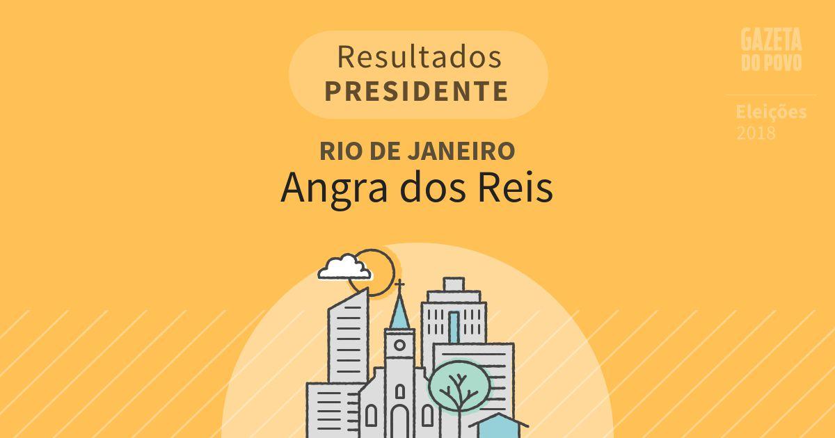 Resultados para Presidente no Rio de Janeiro em Angra dos Reis (RJ)