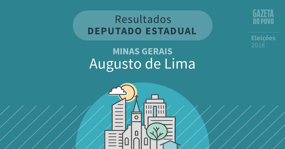 Resultados para Deputado Estadual em Minas Gerais em Augusto de Lima (MG)