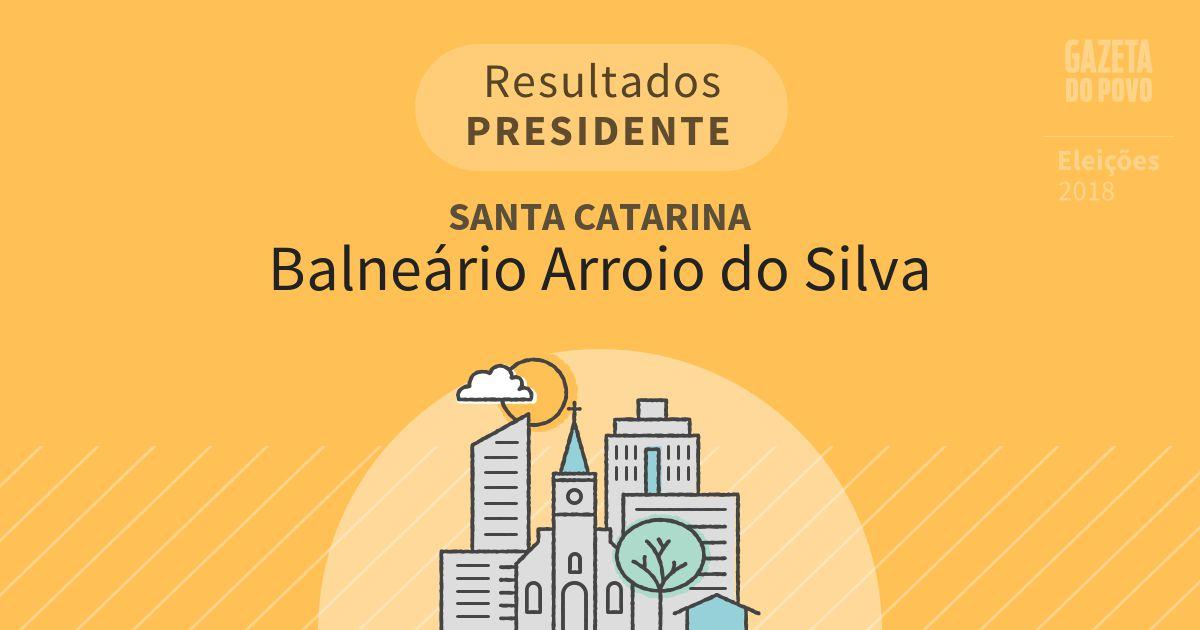 Resultados para Presidente em Santa Catarina em Balneário Arroio do Silva (SC)