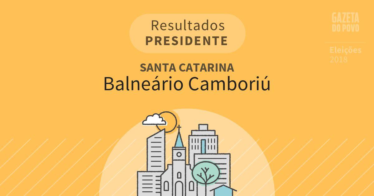 Resultados para Presidente em Santa Catarina em Balneário Camboriú (SC)
