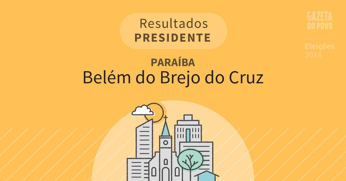 Resultados para Presidente na Paraíba em Belém do Brejo do Cruz (PB)