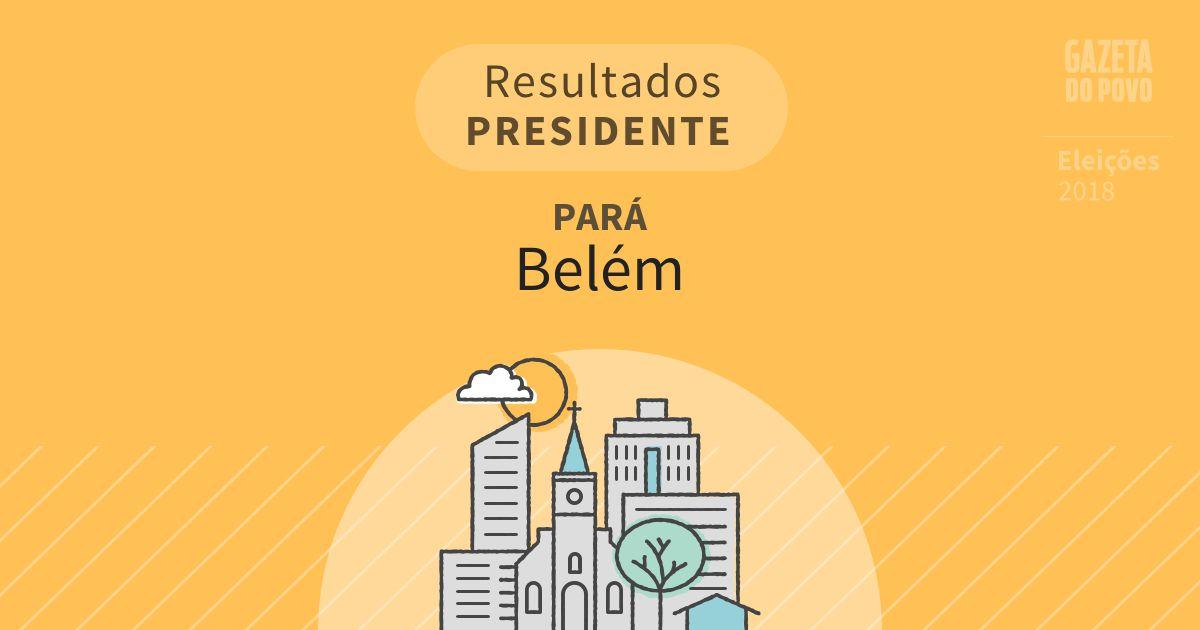 Resultados para Presidente no Pará em Belém (PA)