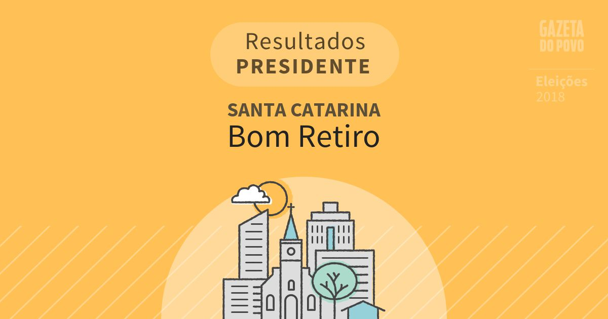 Resultados para Presidente em Santa Catarina em Bom Retiro (SC)
