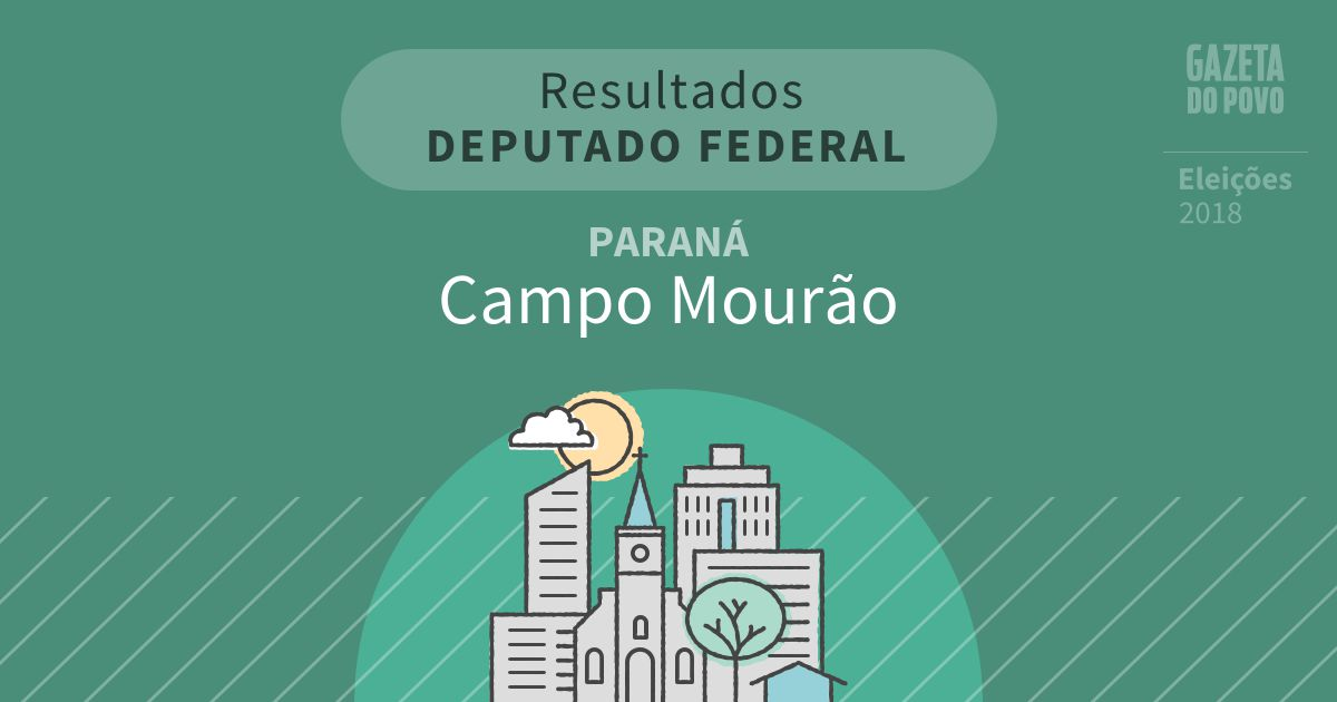 Resultados para Deputado Federal no Paraná em Campo Mourão (PR)
