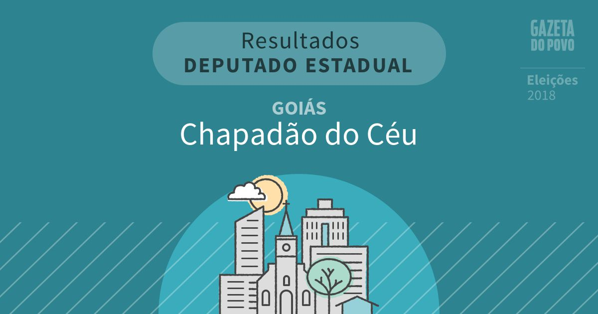 Resultados para Deputado Estadual em Goiás em Chapadão do Céu (GO)