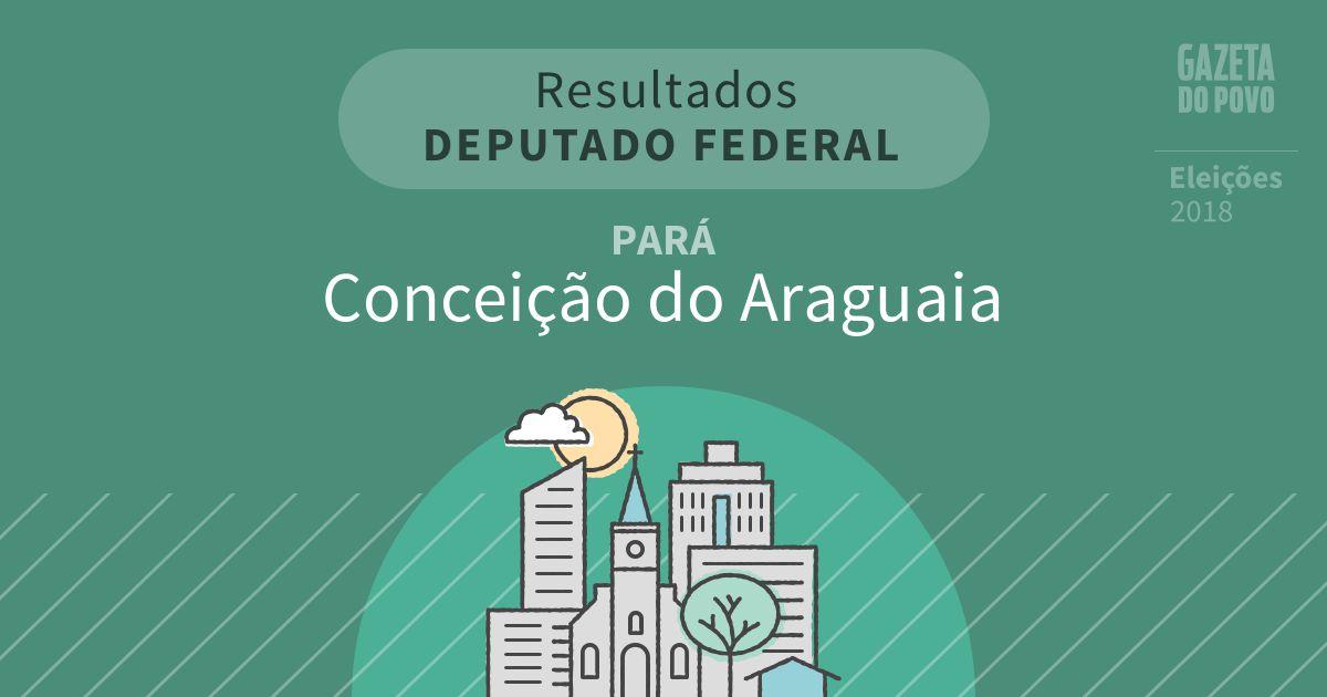 Resultados para Deputado Federal no Pará em Conceição do Araguaia (PA)