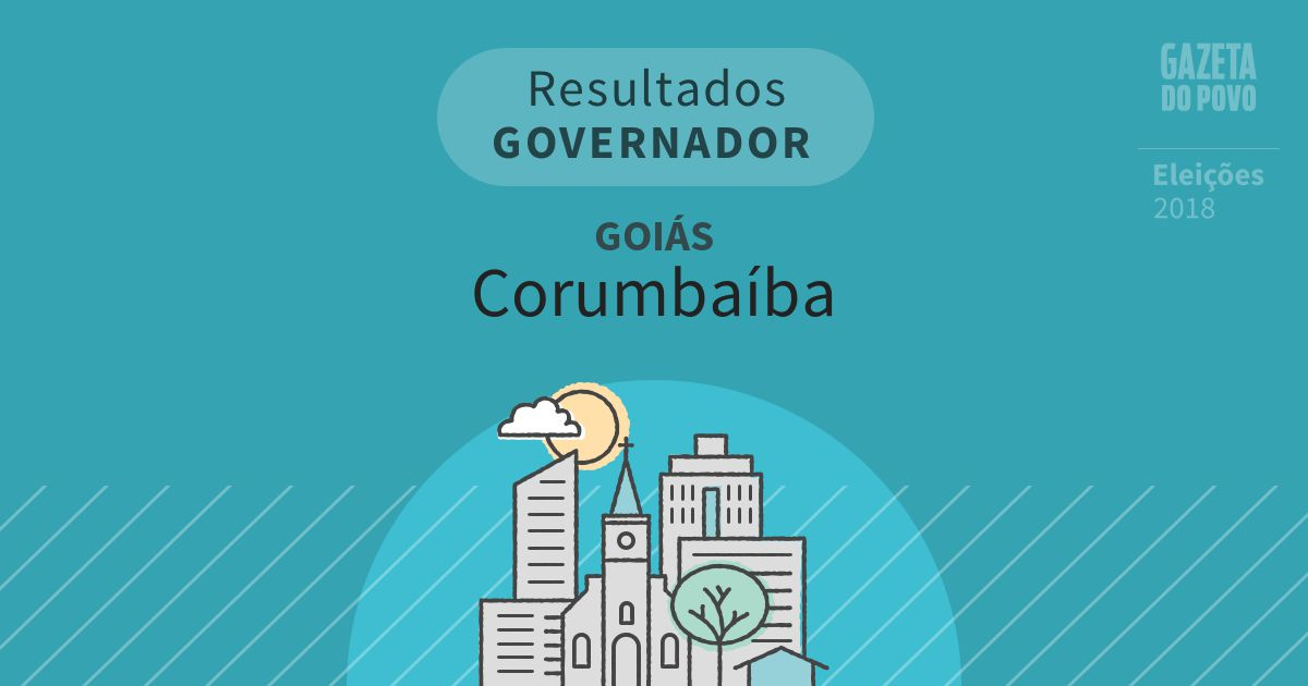 Resultados para Governador em Goiás em Corumbaíba (GO)