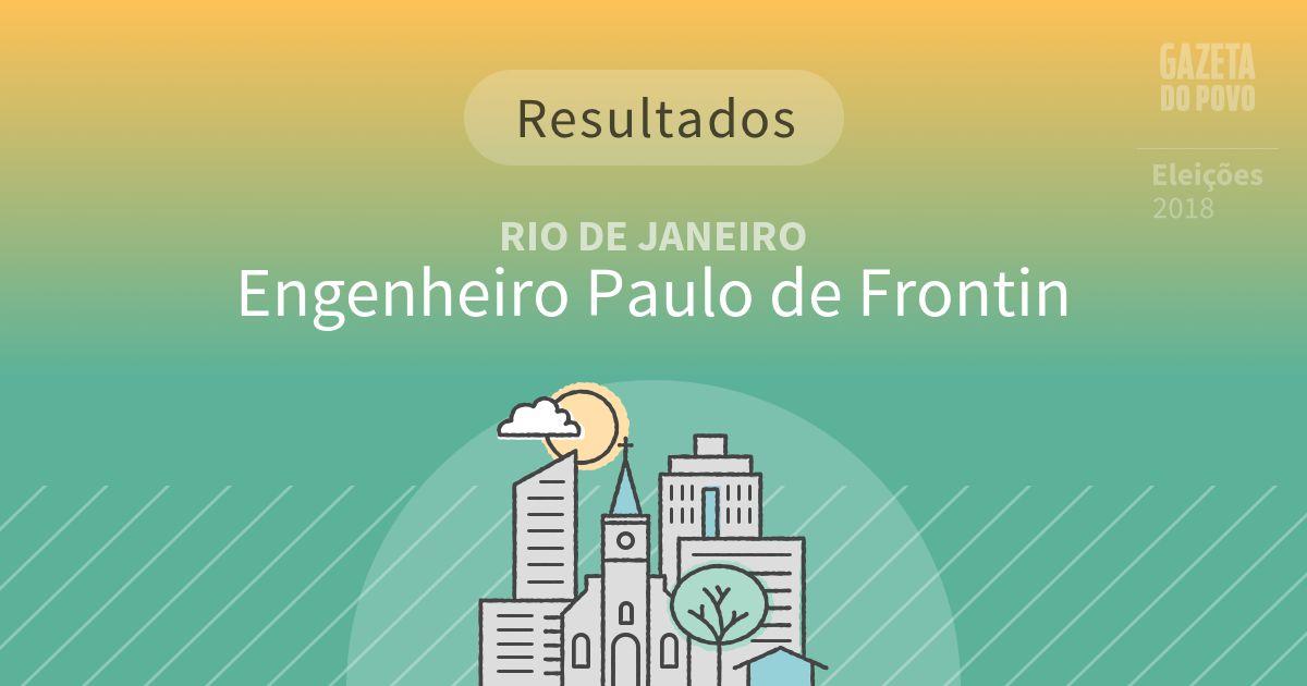 Resultados da votação em Engenheiro Paulo de Frontin (RJ)