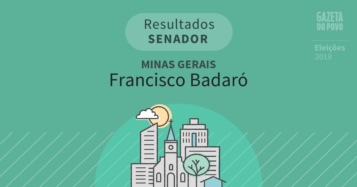 Resultados para Senador em Minas Gerais em Francisco Badaró (MG)