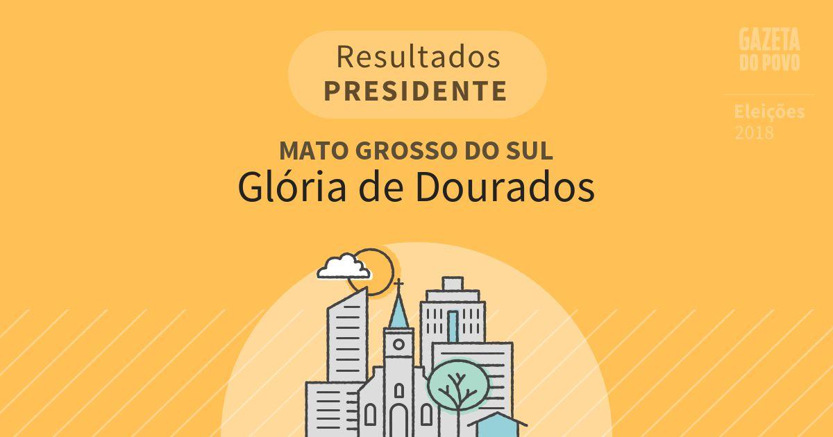 Resultados para Presidente no Mato Grosso do Sul em Glória de Dourados (MS)