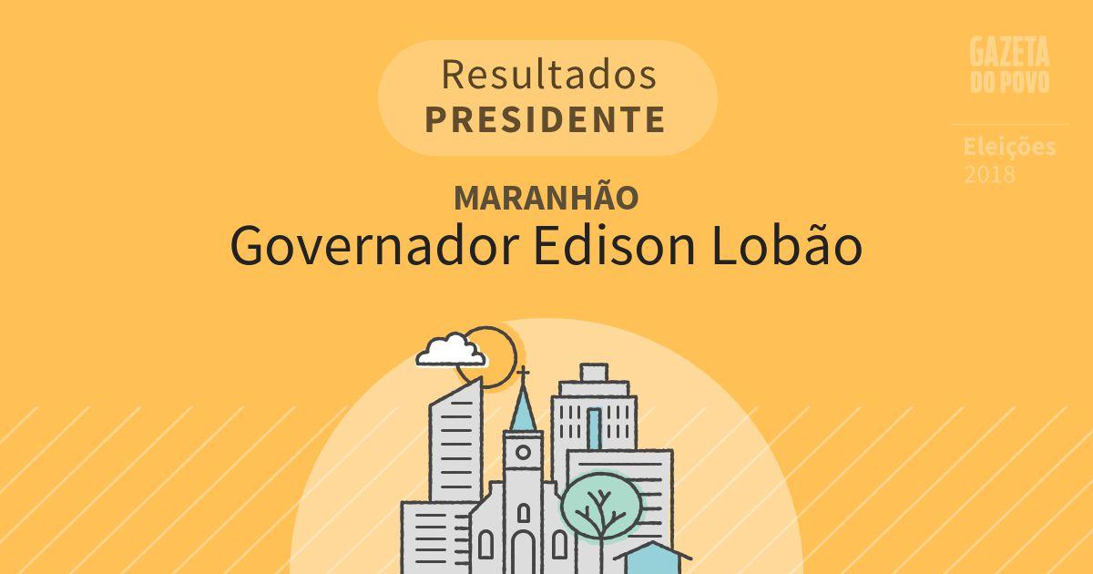 Resultados para Presidente no Maranhão em Governador Edison Lobão (MA)