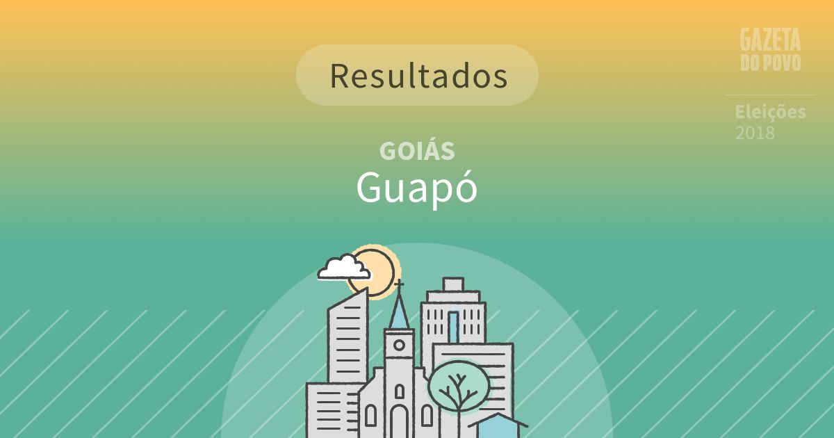 Resultados da votação em Guapó (GO)