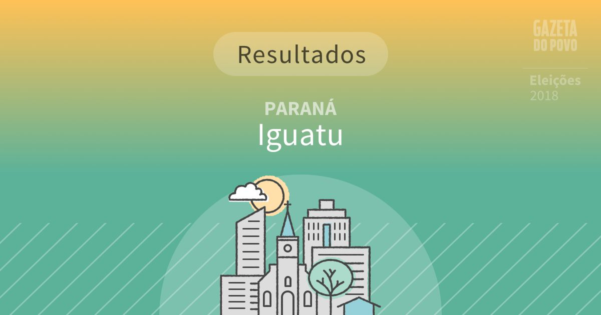 Resultados da votação em Iguatu (PR)