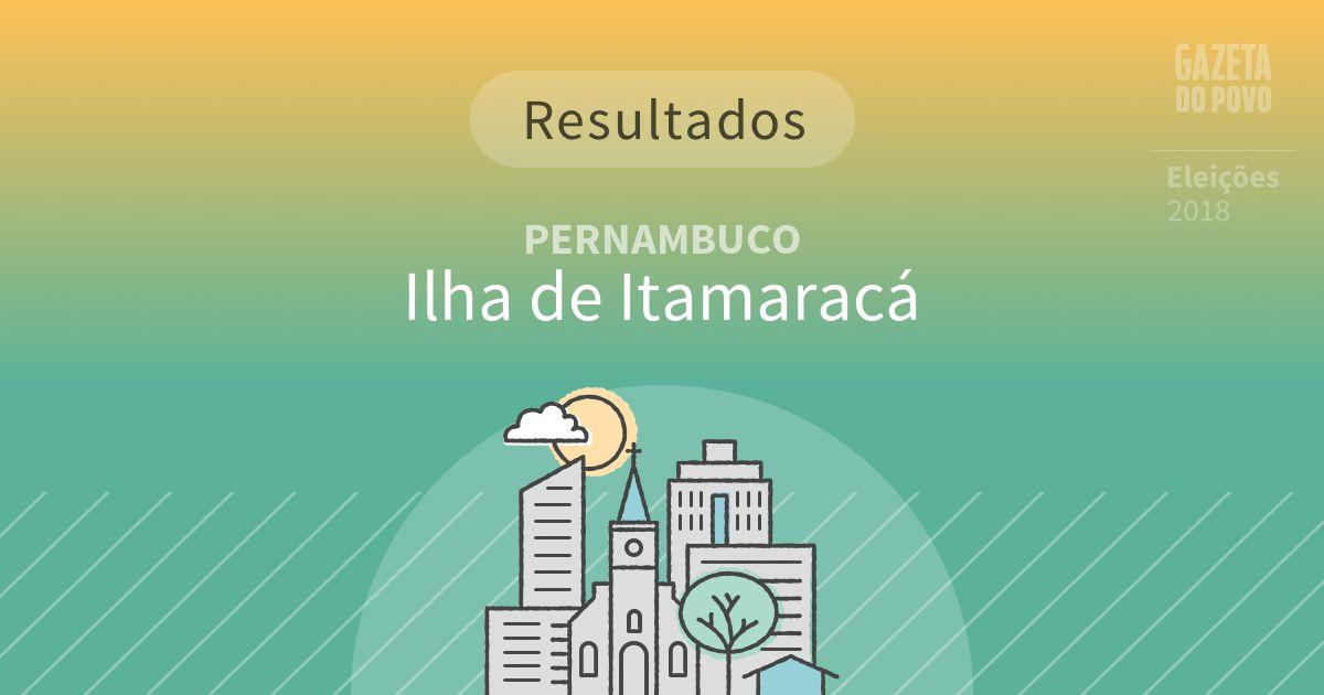 Resultados da votação em Ilha de Itamaracá (PE)