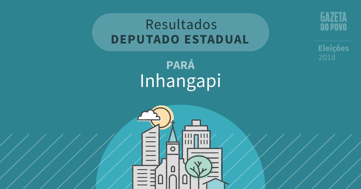 Resultados para Deputado Estadual no Pará em Inhangapi (PA)