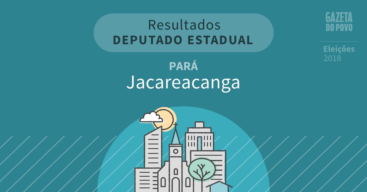 Resultados para Deputado Estadual no Pará em Jacareacanga (PA)