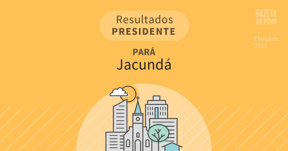 Resultados para Presidente no Pará em Jacundá (PA)