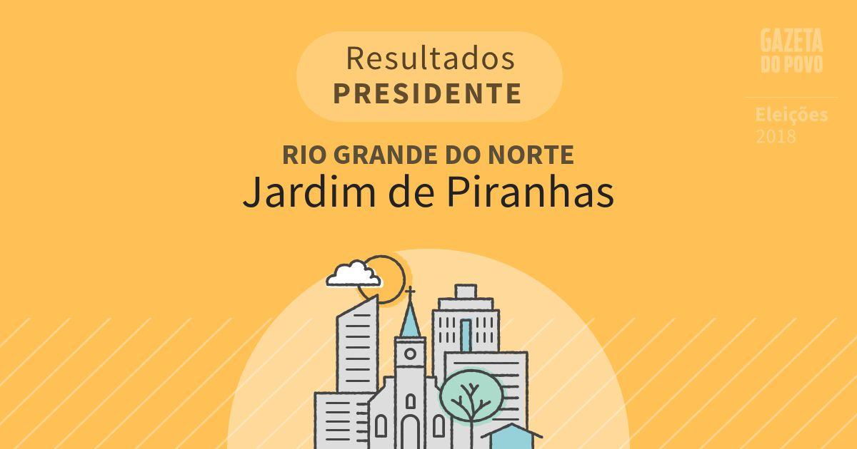 Resultados para Presidente no Rio Grande do Norte em Jardim de Piranhas (RN)