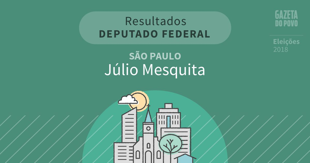 Resultados para Deputado Federal em São Paulo em Júlio Mesquita (SP)