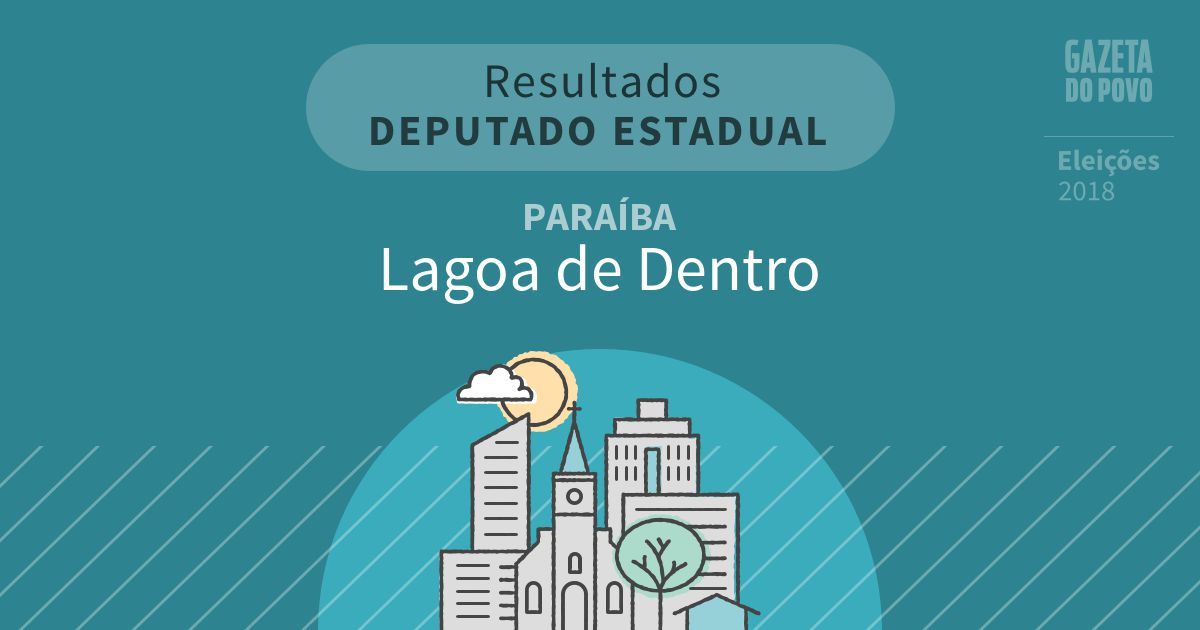 Resultados para Deputado Estadual na Paraíba em Lagoa de Dentro (PB)