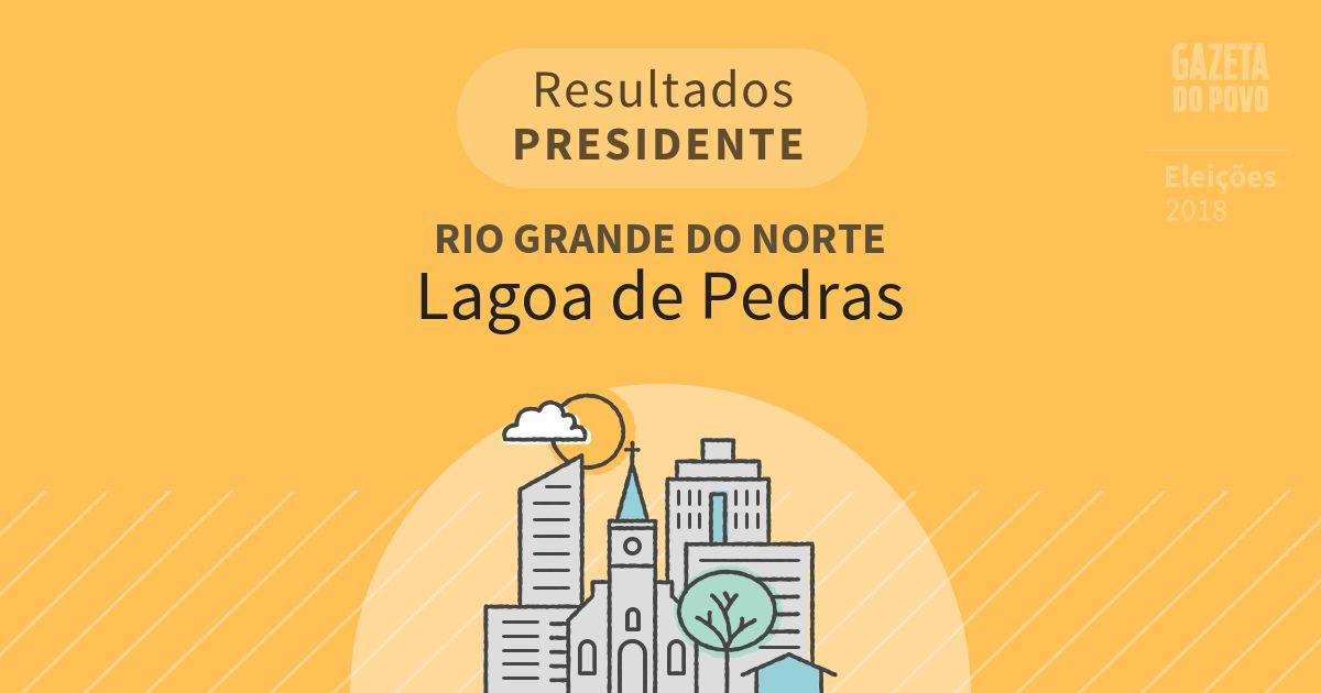 Resultados para Presidente no Rio Grande do Norte em Lagoa de Pedras (RN)