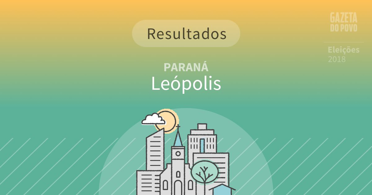 Resultados da votação em Leópolis (PR)