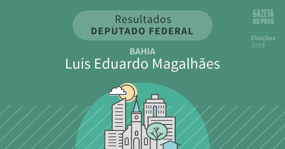 Resultados para Deputado Federal na Bahia em Luís Eduardo Magalhães (BA)