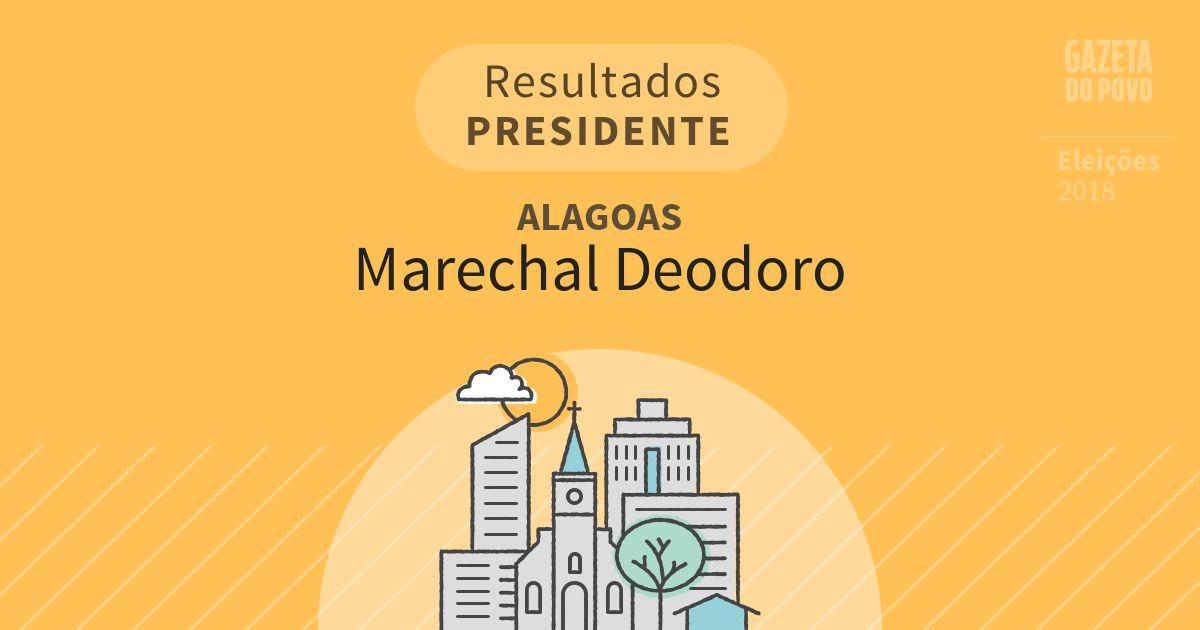 Resultados para Presidente em Alagoas em Marechal Deodoro (AL)