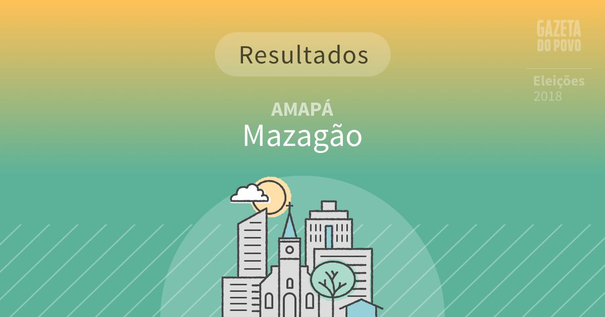 Resultados da votação em Mazagão (AP)