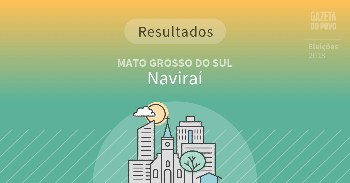 Resultados da votação em Naviraí (MS)