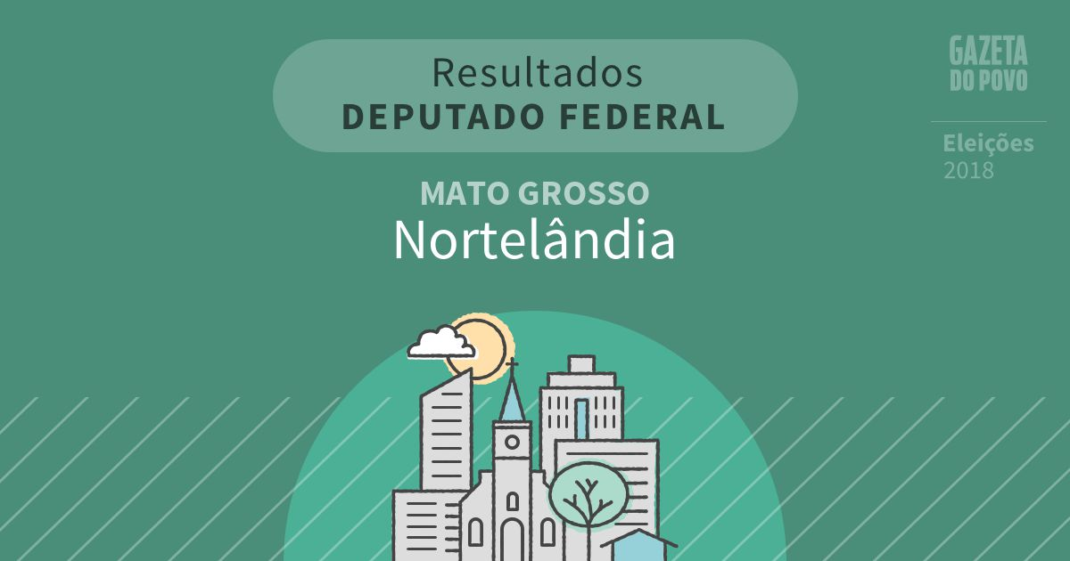 Resultados para Deputado Federal no Mato Grosso em Nortelândia (MT)