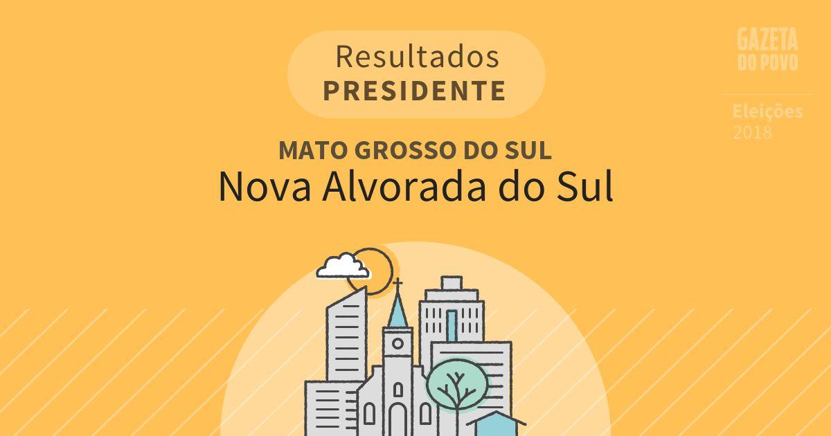 Resultados para Presidente no Mato Grosso do Sul em Nova Alvorada do Sul (MS)