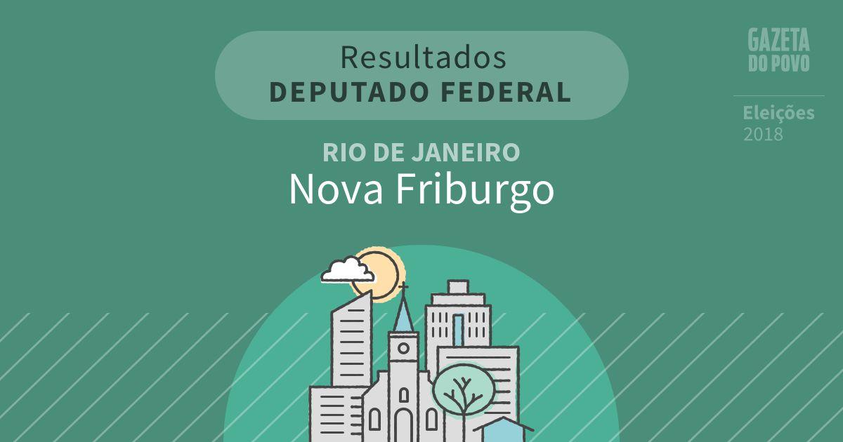 Resultados para Deputado Federal no Rio de Janeiro em Nova Friburgo (RJ)