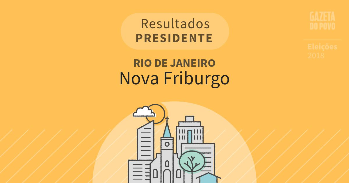 Resultados para Presidente no Rio de Janeiro em Nova Friburgo (RJ)