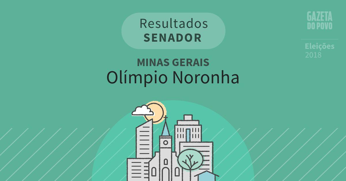 Resultados para Senador em Minas Gerais em Olímpio Noronha (MG)