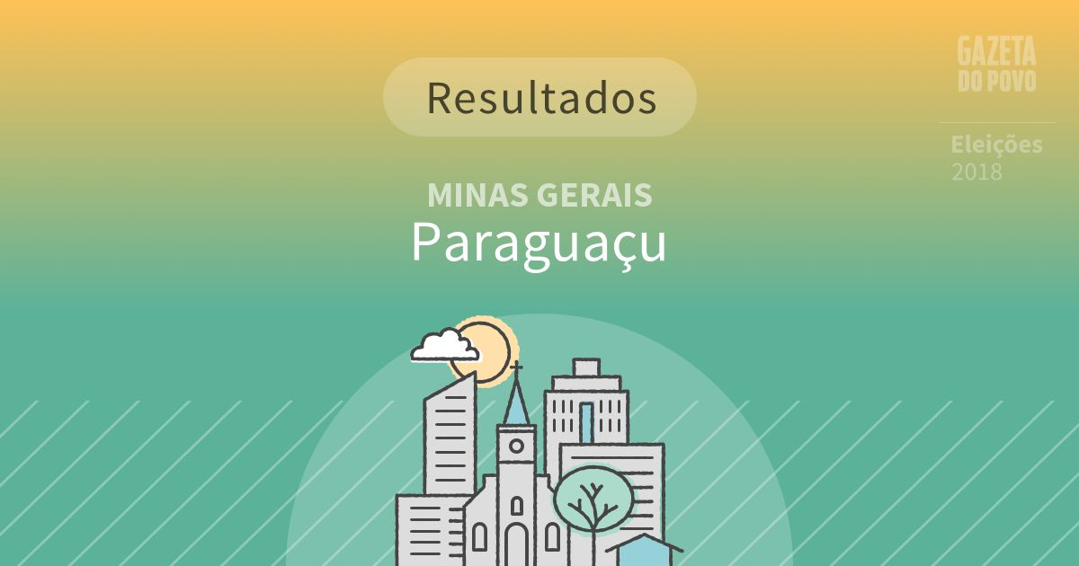 Resultados da votação em Paraguaçu (MG)