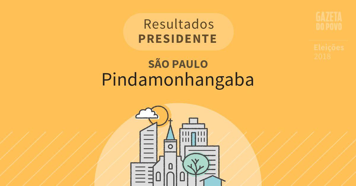 Resultados para Presidente em São Paulo em Pindamonhangaba (SP)