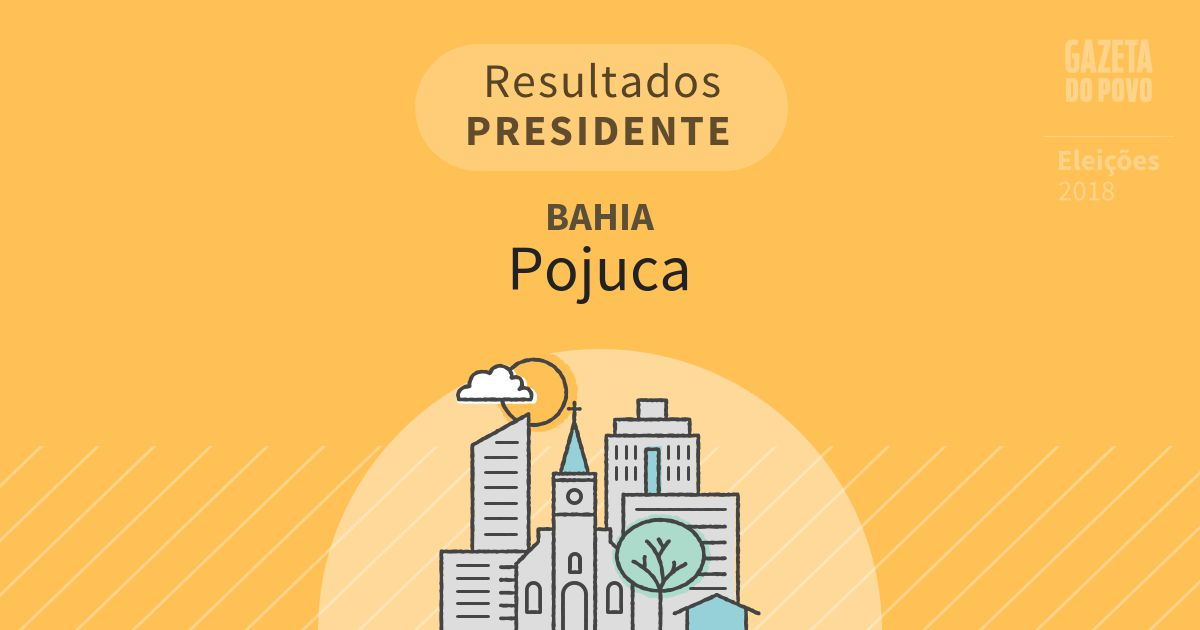 Resultados para Presidente na Bahia em Pojuca (BA)