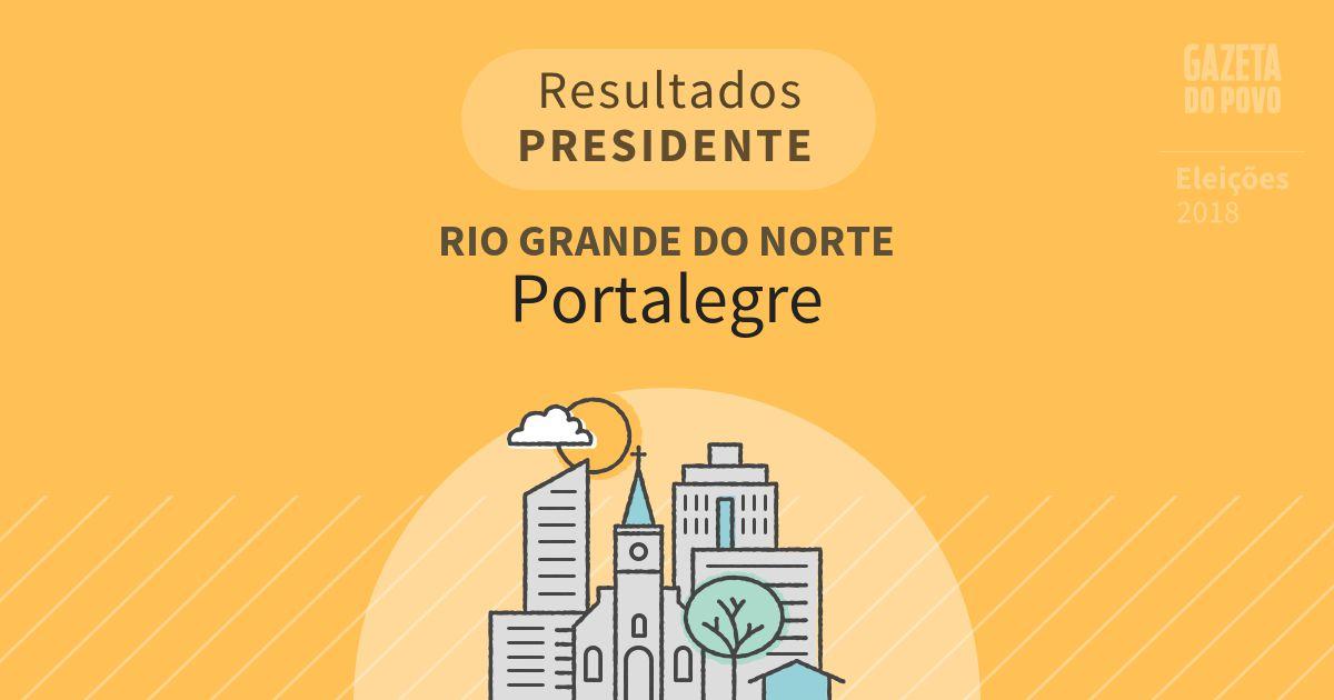 Resultados para Presidente no Rio Grande do Norte em Portalegre (RN)