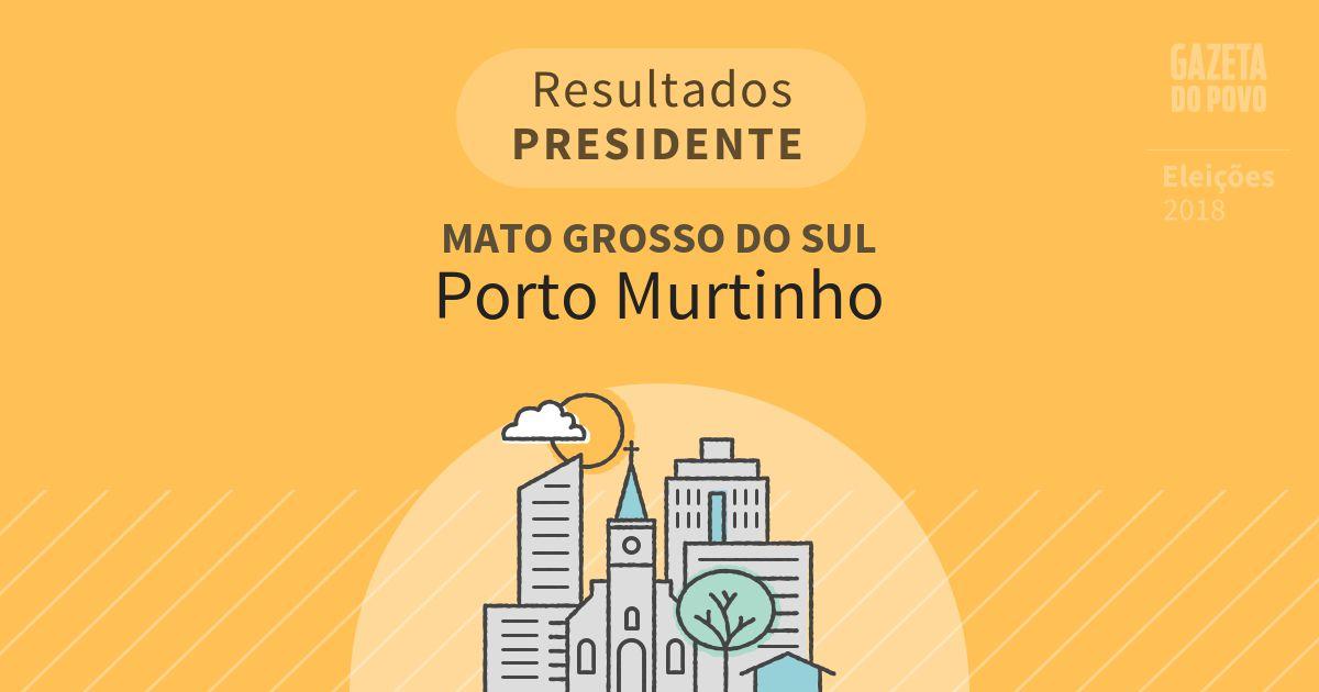 Resultados para Presidente no Mato Grosso do Sul em Porto Murtinho (MS)
