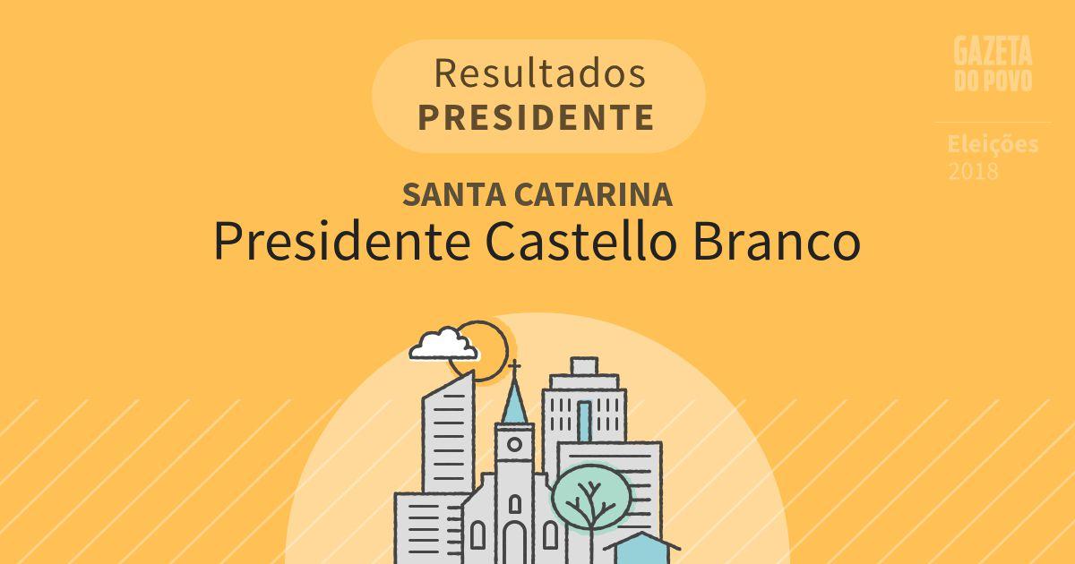 Resultados para Presidente em Santa Catarina em Presidente Castello Branco (SC)