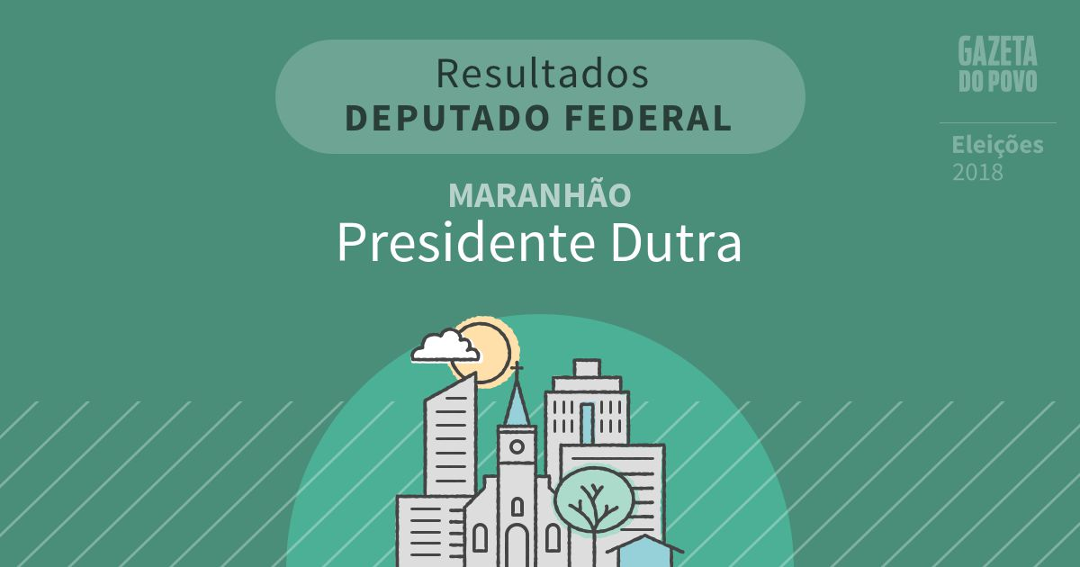 Resultados para Deputado Federal no Maranhão em Presidente Dutra (MA)