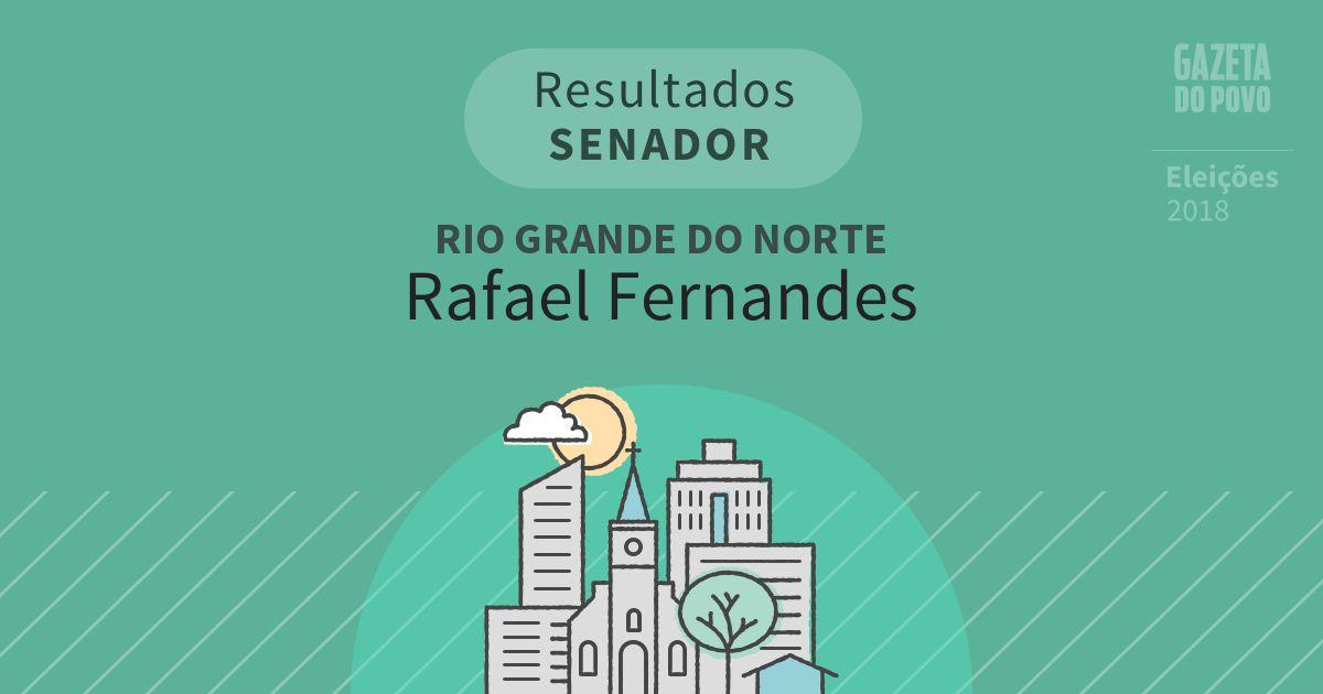 Resultados para Senador no Rio Grande do Norte em Rafael Fernandes (RN)