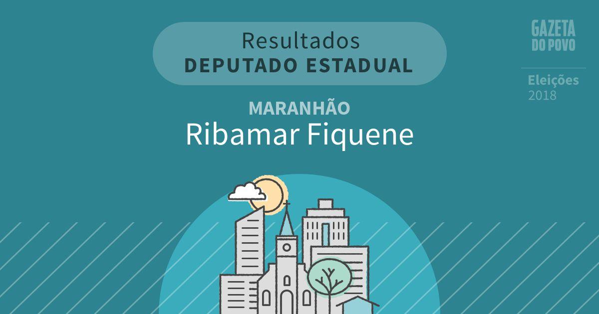 Resultados para Deputado Estadual no Maranhão em Ribamar Fiquene (MA)
