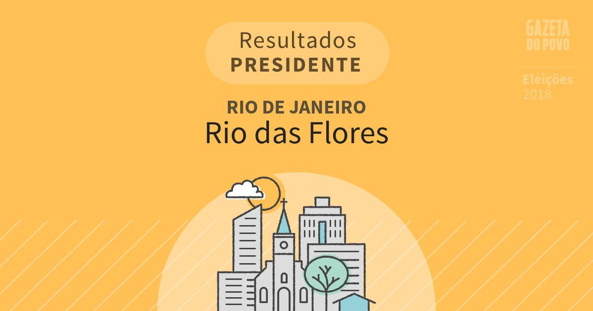 Resultados para Presidente no Rio de Janeiro em Rio das Flores (RJ)