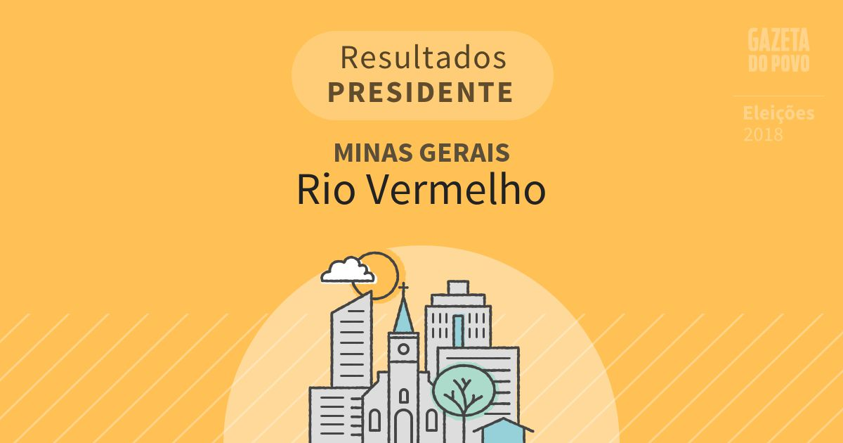 Resultados para Presidente em Minas Gerais em Rio Vermelho (MG)