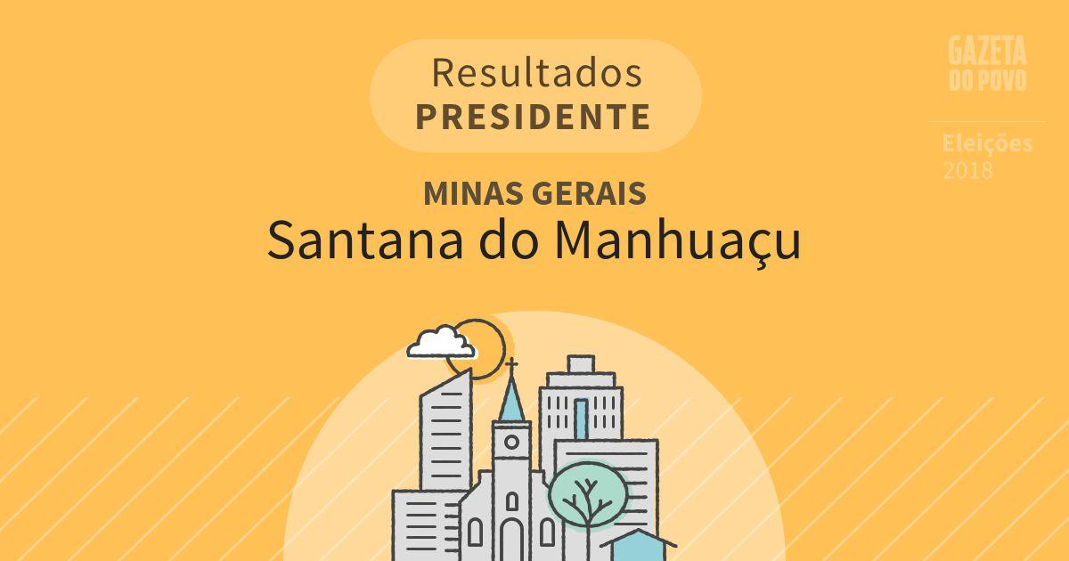 Resultados para Presidente em Minas Gerais em Santana do Manhuaçu (MG)